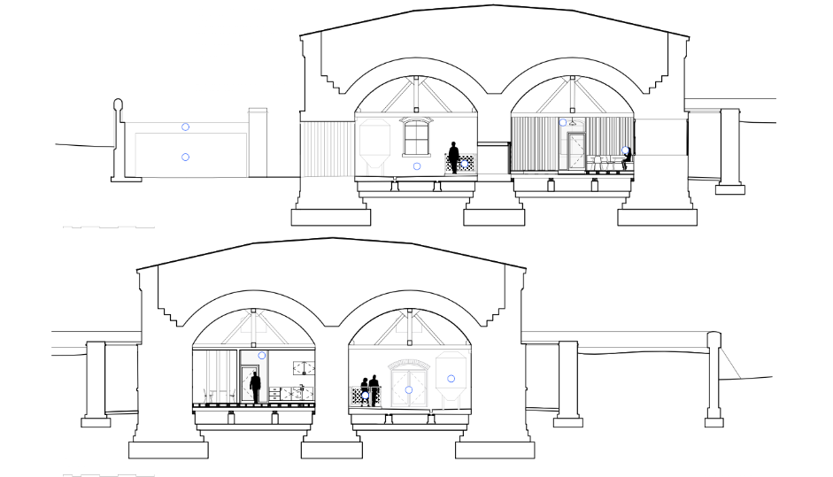 Front and Rear View Plan